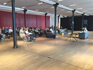 Diskussion, Kulturfabrik Hainburg2