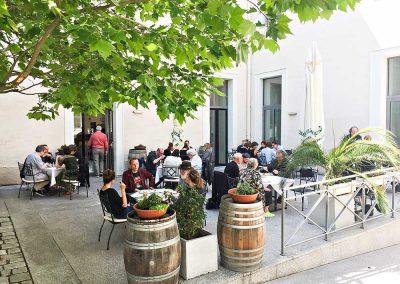 Gastgarten 2, Kulturfabrik Hainburg