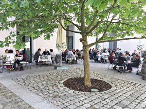 Gastgarten, Kulturfabrik Hainburg